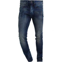 Denham BOLT Jeans Skinny Fit blue denim. Niebieskie jeansy męskie relaxed fit marki Criminal Damage. Za 629,00 zł.
