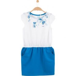 Sukienki dziewczęce z falbanami: Sukienka z kieszeniami dla dziewczynki
