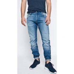 G-Star Raw - Jeansy Itano. Niebieskie jeansy męskie slim G-Star RAW, z bawełny. W wyprzedaży za 299,90 zł.