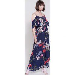 Sukienki hiszpanki: Granatowa Sukienka Love on Top