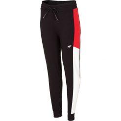 Spodnie dresowe damskie: Spodnie dresowe damskie SPDD213 - głęboka czerń