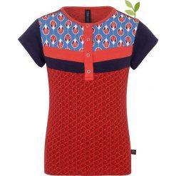 """Bluzki dziewczęce bawełniane: Koszulka """"Opuntia"""" w kolorze czerwono-niebieskim"""