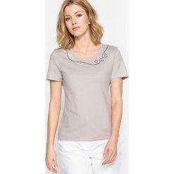 T-shirty damskie: Bawełniany T-shirt z okrągłym dekoltem