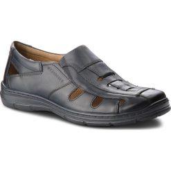 Sandały LASOCKI FOR MEN - MI07-A695-A556-02  Granatowy. Niebieskie sandały męskie skórzane Lasocki For Men. W wyprzedaży za 159,99 zł.