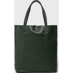 Answear - Torebka BS0001.B. Szare torebki klasyczne damskie ANSWEAR, z materiału, duże. W wyprzedaży za 159,90 zł.