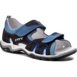 Sandały BARTEK - 19187 Niebieski 1PI. Niebieskie sandały męskie skórzane Bartek. W wyprzedaży za 209,00 zł.