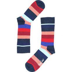 Granatowe Skarpetki Stripe Happy Socks. Szare skarpetki damskie Born2be, w kolorowe wzory. Za 29,99 zł.