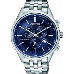 ZEGAREK CITIZEN Chrono AT2141-52L. Niebieskie, analogowe zegarki męskie CITIZEN, sztuczne. Za 1270,00 zł.