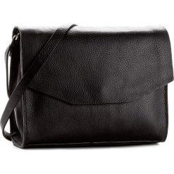 Torebka CLARKS - Treen Island  Black Leather. Czarne listonoszki damskie Clarks, ze skóry, na ramię. Za 299,00 zł.
