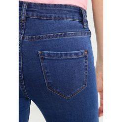 New Look INDIA Jeans Skinny Fit mid blue. Czarne jeansy damskie marki New Look, z materiału, na obcasie. Za 129,00 zł.
