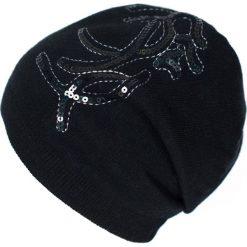 Czapka damska W dobrym guście czarna. Czarne czapki zimowe damskie Art of Polo. Za 61,09 zł.
