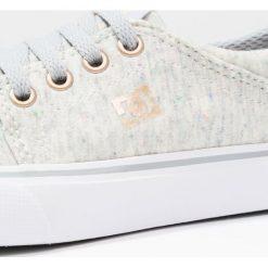 DC Shoes TRASE  Tenisówki i Trampki multicolor. Szare trampki dziewczęce DC Shoes, z materiału, klasyczne. W wyprzedaży za 155,35 zł.