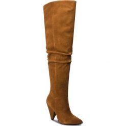 Muszkieterki LIU JO - Milly 08 S68085 P0021 Tan S1800. Brązowe buty zimowe damskie Liu Jo, z materiału. Za 1339,00 zł.