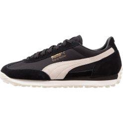 Puma EASY RIDER Tenisówki i Trampki black/whisper white/gold. Czarne trampki męskie Puma, z materiału. W wyprzedaży za 215,40 zł.