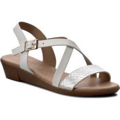 Rzymianki damskie: Sandały VIA RAVIA – WAB-082-LY2 Biały