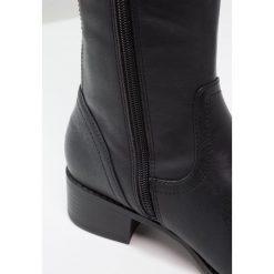 Head over Heels by Dune TULLULAH Muszkieterki black. Czarne kowbojki damskie Head over Heels by Dune, z materiału. W wyprzedaży za 335,20 zł.
