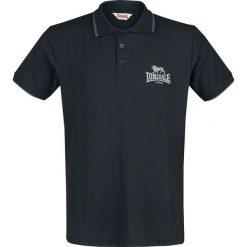 Lonsdale London Dunton Koszulka Polo czarny. Czarne koszulki polo marki Lonsdale London, s, z nadrukiem. Za 62,90 zł.