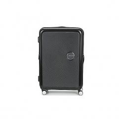 Walizki twarde American Tourister  SOUNDBOX 77CM 4R. Czarne walizki marki Dakine, z materiału. Za 679,00 zł.