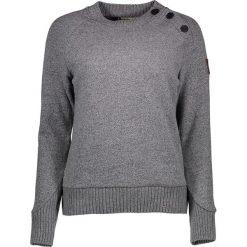"""Odzież damska: Sweter """"Halden"""" w kolorze szarym"""