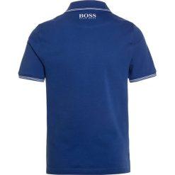 Bluzki dziewczęce bawełniane: BOSS Kidswear LOGO RUND Koszulka polo blaugrau