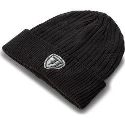 Czapka TRUSSARDI JEANS - Hat Knitted Patch Felt 57Z00006 K299. Czarne czapki damskie marki Trussardi Jeans, z bawełny. Za 169,00 zł.