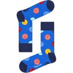 Skarpety Happy Socks (SMI01-6000). Niebieskie skarpetki męskie Happy Socks, z bawełny. Za 29,99 zł.