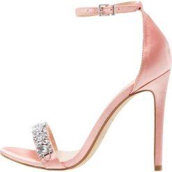 Sandały damskie: New Look TWINS Sandały na obcasie pink
