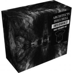 Architects Holy hell CD + T-Shirt (L) standard. Czarne t-shirty damskie Architects, l, z bawełny. Za 99,90 zł.