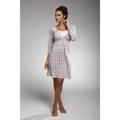 Koszula nocna damska 164/182 Gabi granatowo-różowa r. M. Czerwone bielizna ciążowa Cornette, moda ciążowa. Za 66,62 zł.