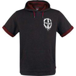 Deadpool Logo T-Shirt czarny/odcienie czerwonego. Czerwone t-shirty męskie z nadrukiem marki Cropp, l, z kapturem. Za 79,90 zł.