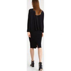 Odzież damska: Norma Kamali Spódnica ołówkowa  black