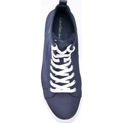 Calvin Klein Jeans - Trampki. Szare trampki męskie marki Calvin Klein Jeans, z gumy, na sznurówki. W wyprzedaży za 299,90 zł.