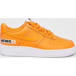 Nike Sportswear - Buty Nike Air Force 1 07 LV8 JDI Lea. Szare buty skate męskie Nike Sportswear, z materiału, Nike Air Force. W wyprzedaży za 379,90 zł.