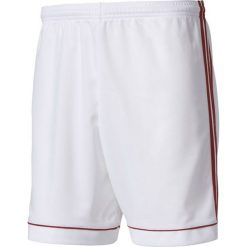 Spodenki i szorty męskie: Adidas Spodenki męskie Squadra 17 biało-czerwone r. XXL (BK4762)