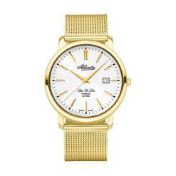 Zegarki męskie: Zegarek męski Atlantic Super De Luxe 64756-45-21