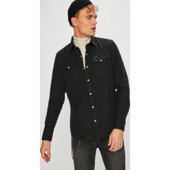 G-Star Raw - Koszula. Czarne koszule męskie na spinki marki G-Star RAW, l, z bawełny, z klasycznym kołnierzykiem, z długim rękawem. W wyprzedaży za 379,90 zł.
