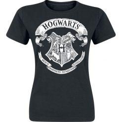 Bluzki asymetryczne: Harry Potter Hogwarts Logo Koszulka damska czarny