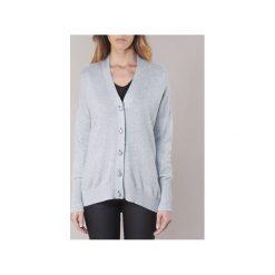 Swetry rozpinane / Kardigany MICHAEL Michael Kors  GEM CARDG. Niebieskie kardigany damskie marki BOTD, l. Za 791,20 zł.