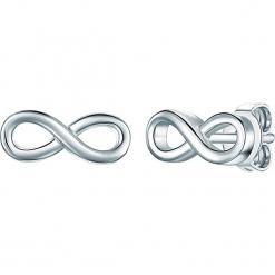 Srebrne kolczyki-wkrętki. Szare kolczyki damskie Stylowa biżuteria, srebrne. W wyprzedaży za 73,95 zł.