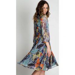 Sukienki: Zwiewna sukienka z szyfonu  BIALCON