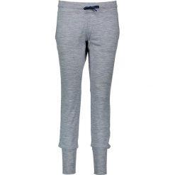 Bryczesy damskie: Spodnie dresowe w kolorze jasnoszarym
