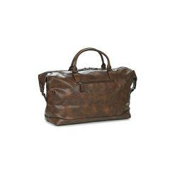 Torby podróżne Casual Attitude  DAVITO. Brązowe torby podróżne Casual Attitude. Za 219,00 zł.