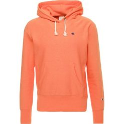 Bejsbolówki męskie: Champion Reverse Weave HOODED Bluza z kapturem orange