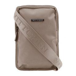 Torebka w kolorze beżowym - (S)16 x (W)22 x (G)2 cm. Brązowe torby na ramię męskie marki Kazar, ze skóry, przez ramię, małe. W wyprzedaży za 59,95 zł.