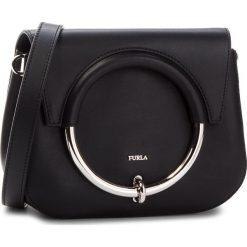 Torebka FURLA - Margherita 963547 B BOR9 VWO Onyx. Czarne listonoszki damskie marki Furla, ze skóry. W wyprzedaży za 1029,00 zł.