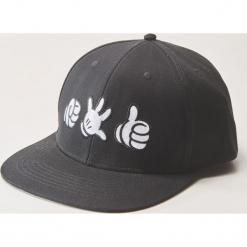 Czapka z daszkiem Disney - Czarny. Czarne czapki męskie House, z motywem z bajki. Za 39,99 zł.