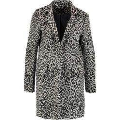 Płaszcze damskie pastelowe: Cortefiel TAILORED COAT PRINT Płaszcz wełniany /Płaszcz klasyczny black