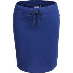 Spódnica dresowa damska  SPUD600 - granatowy - Outhorn. Niebieskie spódniczki Outhorn, na lato, z bawełny, sportowe, sportowe. Za 39,99 zł.