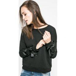 Answear - Bluza Ur Your Only Limit. Czarne bluzy damskie ANSWEAR, l, z bawełny, bez kaptura. W wyprzedaży za 69,90 zł.