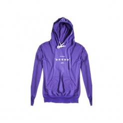 Bluza Hoodie Classic Unfvckinreal Violet. Fioletowe bluzy męskie rozpinane marki Harp Team, m, z nadrukiem, z bawełny, z długim rękawem, długie. Za 229,00 zł.
